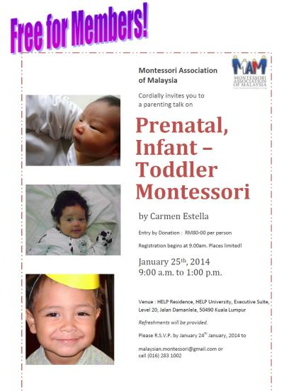 mam prenatal workshop
