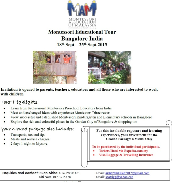 Montessori India Tour